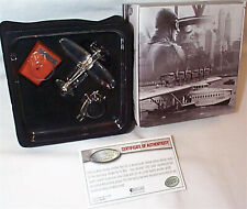 Heinkel HE 70 Blitz Silver Plated Aircraft 1:200 Scale Model Atlas