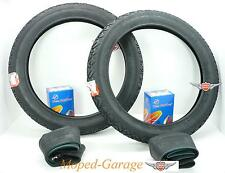 Piaggio Vespa Ciao Mofa Moped  Vee Rubber Reifen + Schlauch Set 2 1/4 x 16 Zoll