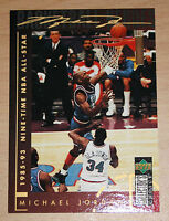 Michael Jordan 1994 Collector Choice NINE TIME NBA ALL STAR GOLD SIGNATURE CARD