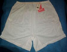 3 Size 11 Long Leg Acetate Panties Vintage No Cotton USA Made