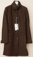Versace VJC Wool Flannel Coat $1250 S Small *Dark Brown* NEW WITH TAGS!