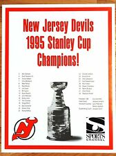 6a950bba8 Stanley Cup Poster New Jersey Devils NHL Fan Apparel   Souvenirs