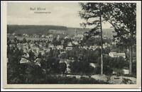 Bad Elster Sachsen Postkarte ~1920/30 Gesamtansicht i.d. Totalen Wald Panorama