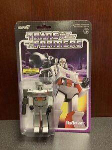 Super 7 ReAction Transformers Chrome Megatron G1 action figure