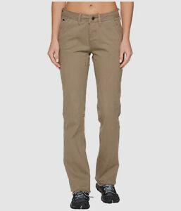 $270 Mountain Khakis Women's Beige Hiking Mid Rise Classic Fit Pants US Size 0