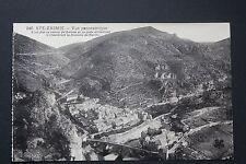 Carte postale ancienne CPA SAINTE-ENIMIE - Vue panoramique