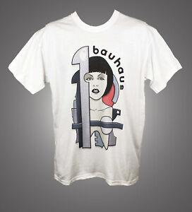 Bauhaus 1919 Punk Gothic Rock Art T shirt Classic Unisex Fit Top S-2XL