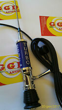 GGD Antenna Turbo 2002 CB Mobile Blue Power 2000 WATT