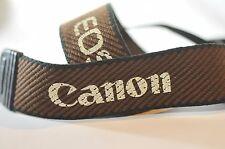 Canon EOS Brown shoulder camera strap for film digital SLR A2 T5 T6 5D 70D 60D