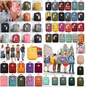 Fjällräven Kanken Rucksack Schule Sport Freizeit Trend Tasche Backpack 20 16 7L.