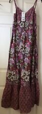 New George Pink Floral Maxi Dress Size 10
