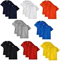 3 Pack Men's Fruit of the Loom Heavy Cotton Plain Blank Tee Shirt Tshirt T-Shirt