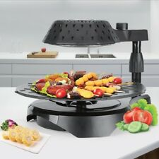 3D Electric Smokeless Bio Infrared BBQ Grill No Oil Thawing Smoke Party Grilling
