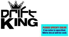 "Drift King #13 Vinyl decal sticker Car Truck Jeep Window Laptop Die Cut Wall 10"""