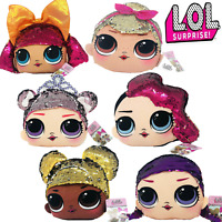 Doll Accessories L.O.L Surprise Squishy Fluky Plush Assortment 6 Squishy Designs