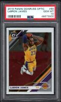 2019 Panini Donruss Optic #60 LeBRON JAMES Los Angeles Lakers PSA 10 GEM MINT