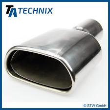 TA TECHNIX Tubo finale Cappa di scarico acciaio inox universale 141x71mm