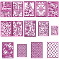 Christmas Lace Pattern Frame Metal Cutting Die DIY Album Stencil Embossing Craft