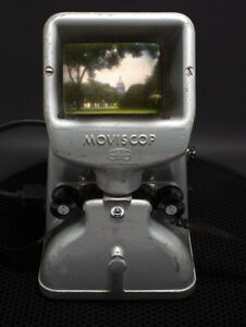 Working Zeiss Ikon Moviscop 16mm Movie Editor Viewer  Germany L@@K  NO~RESERVE