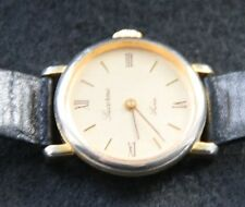 Damen Armbanduhr Uhr Lucerne Swiss Base Metal Bezel Stainless Steel Back vintage