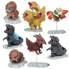7 pcs Godzilla Movie King of the Monster Cute Action Figures Set Party Toys Gift