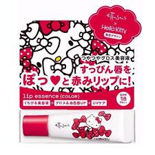 [ETTUSAIS HELLO KITTY] Lip Essence Color Lip Balm SPF18 (TINTED RED) JAPAN NEW
