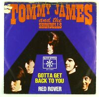 """7"""" Single - Tommy James & The Shondells - Gotta Get Back To You - S1485"""