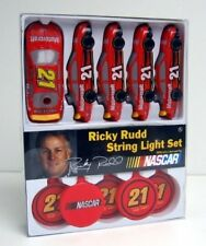 Ricky Rudd #21 STRING LIGHT SET ~ 12 Feet Long ~ Nascar Racing