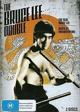 THE BRUCE LEE DOUBLE - 2 IN 1 - BRAND NEW GENUINE SEALED 2DVD SET - R4