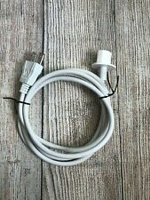 Used Apple iMac Power Cord Cable for Mac, White Color