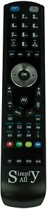Compatible Replacement Remote Control for the Oppo BDP103D Blu-Ray Player