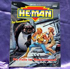 MOTU He-Man Comic Nr.4 Die Falle im Monstertunnel - Masters of the Universe