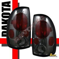 97-04 Dodge Dakota Smoke Tail Lights Lamps 1 Pair 98 99 00 01 02 03