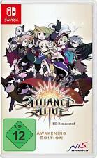 Nintendo Switch Spiel The Alliance Alive HD Remastered Awakening Edition NEUWARE