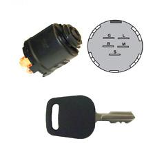 Sears Craftsman AYP Mower Ignition Switch 140399, 144921, 154555, 163088 w/ Key