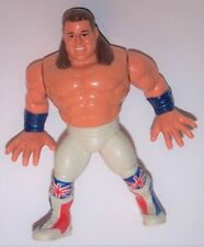 Vintage 1991 Wwf Hasbro British Bulldog Davey Boy Smith Wrestling Action Figure