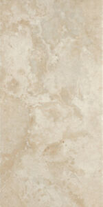 "Del Conca 8x Siena SE10 Bianco 18 x 18 "" Square Porcelain Tiles G50U Beige Cream"