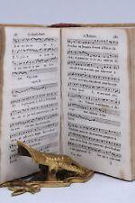MUSICA SACRA CHORI '800 - VESPERAL ROMAIN 1842 Legatura in Pergamena Spartiti