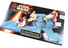 Star Wars Episode 1 Flash Speeder with Launching Laser Cannon!, NIB