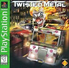 Twisted Metal PS1 Playstation 1 Greatest Hits Complete Ships Fee+Tracking