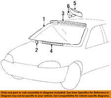 GM OEM Inside-Rearview Rear View Mirror 30014017