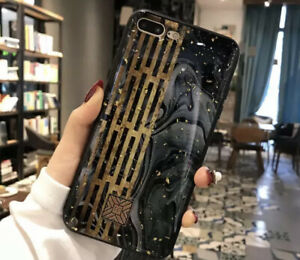 Tempered Glass Phone Fashion Glitter Case For iPhone 11 Pro