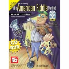 American Fiddle Method Volume 1 Book Cd Dvd Set