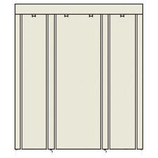 "69"" Portable Closet Storage Holder Clothes Wardrobe Shoe Rack Waterproof Unit"