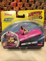 NEW Minnie's Pink Thunder Mickey and The Roadster Racers Die-Cast Car - 2016