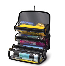 Portable Travel Cosmetic And Toiletry Bag Organizer Hanging Women Men Bathroom