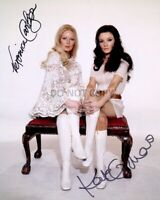 VERONICA CARLSON AND KATE O'MARA WITH *REPRINT* AUTOGRAPHS - 8X10 PHOTO (RP010)