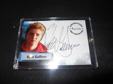 Smallville Autograph Trading Card Kyle Gallner as Bart #A33 (Holder)