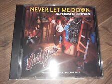 David Bowie - NEVER LET ME DOWN - Alternate Edition - CD Album Brand New