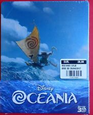 film blu ray disc 3D+2D steelbook oceania moana piper metal box limited edition